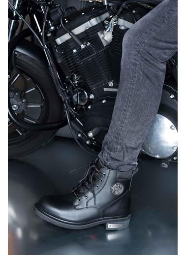 Harley Davidson Erkek Bot Jim 025M100128-Yag-Blk Siyah